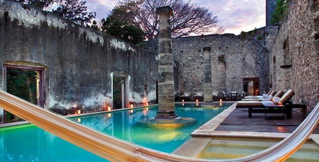 Conoce las mejores 20 haciendas hotel de m xico advanti blog for Alberca 20 de noviembre campeche